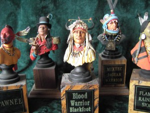 American Indian - Collection of Indian Busts