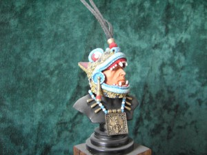 American Indian Mixtec Jaguar Warrior