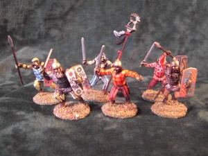 28MM CELTIC WARRIORS