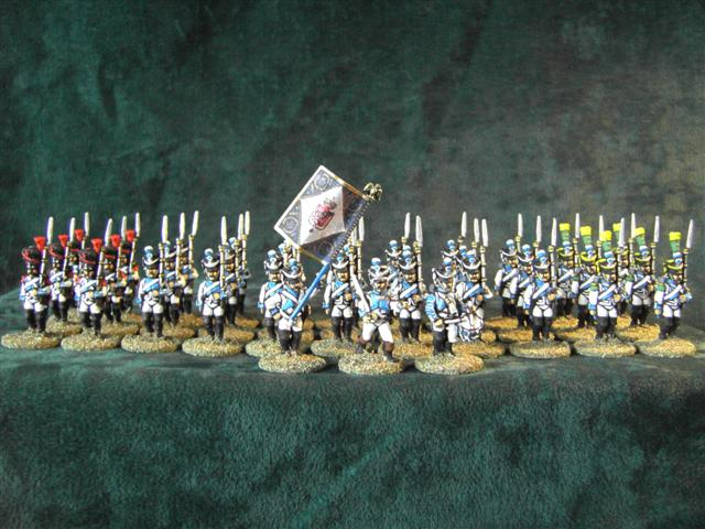 28mm westfalian infantry