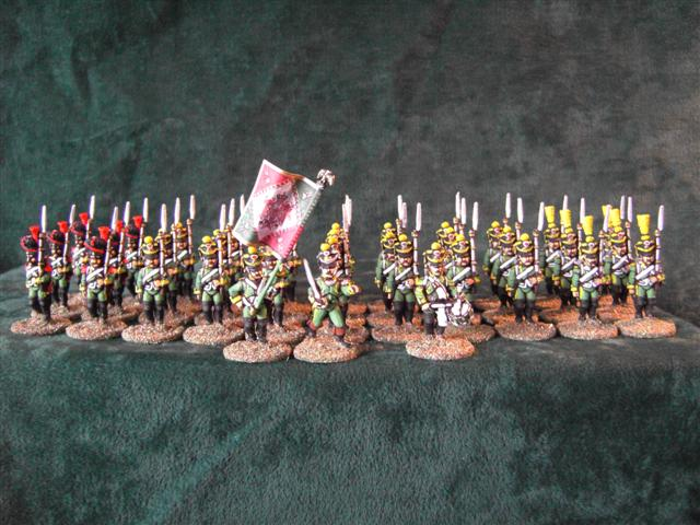 28mm croatian infantry